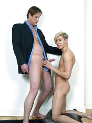 Cute twink Seth gets fucked by dad Sebastian Court